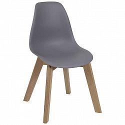Dětská Židle Steve Šedá