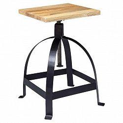 Otočná Židle Drehhocker Masív/kov