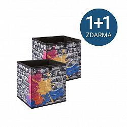 Úložný Box Poppi 6 1+1 Zdarma (1*kus=2 Produkty)