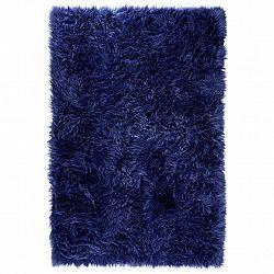 Umělá Kožešina Teddy 2, 100/150cm, Modrá